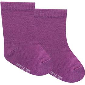 Devold Baby Sokken 2 Stuks Baby, violet